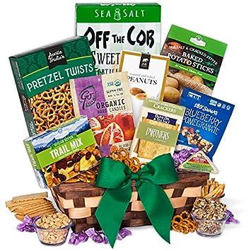 Healthy Gift Basket Classic: Amazon.com: Grocery & Gourmet Food