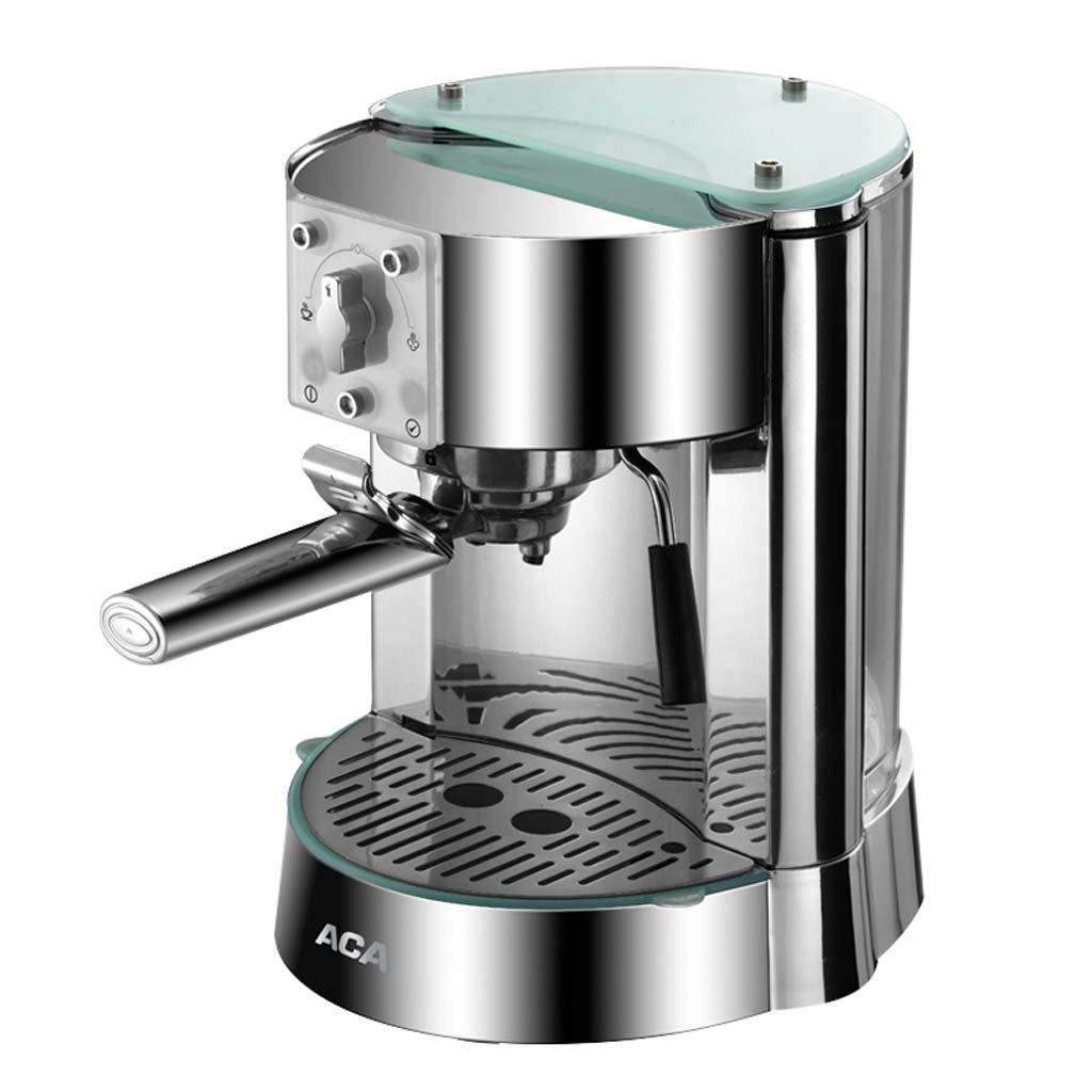 新品 コーヒーポット15バーポンプ圧力イタリアコーヒーマシン半自動エスプレッソマシン搾乳機ステンレス鋼   B07QPSBHDX