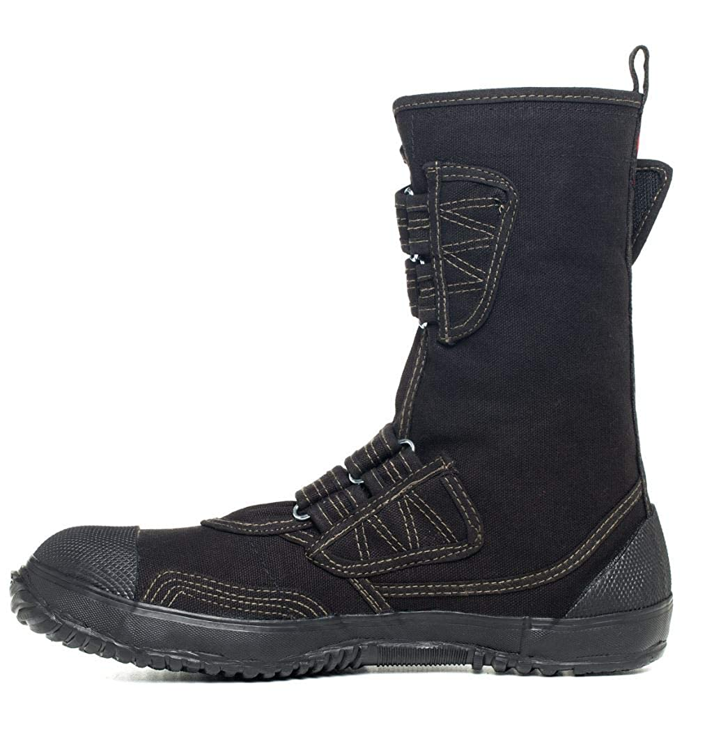 2a55bef5c6453 fugu Sa-Me Japanese Vegan & Eco-Friendly Mid-Calf Boots with Rubber Sole