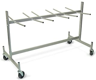 """product image for Raymond Steel Hanging Chair/Table Truck, Phenolic Wheels, 500 lbs Load Capacity, 74"""" Height, 43-1/2"""" Width X 31-5/8"""" Depth"""