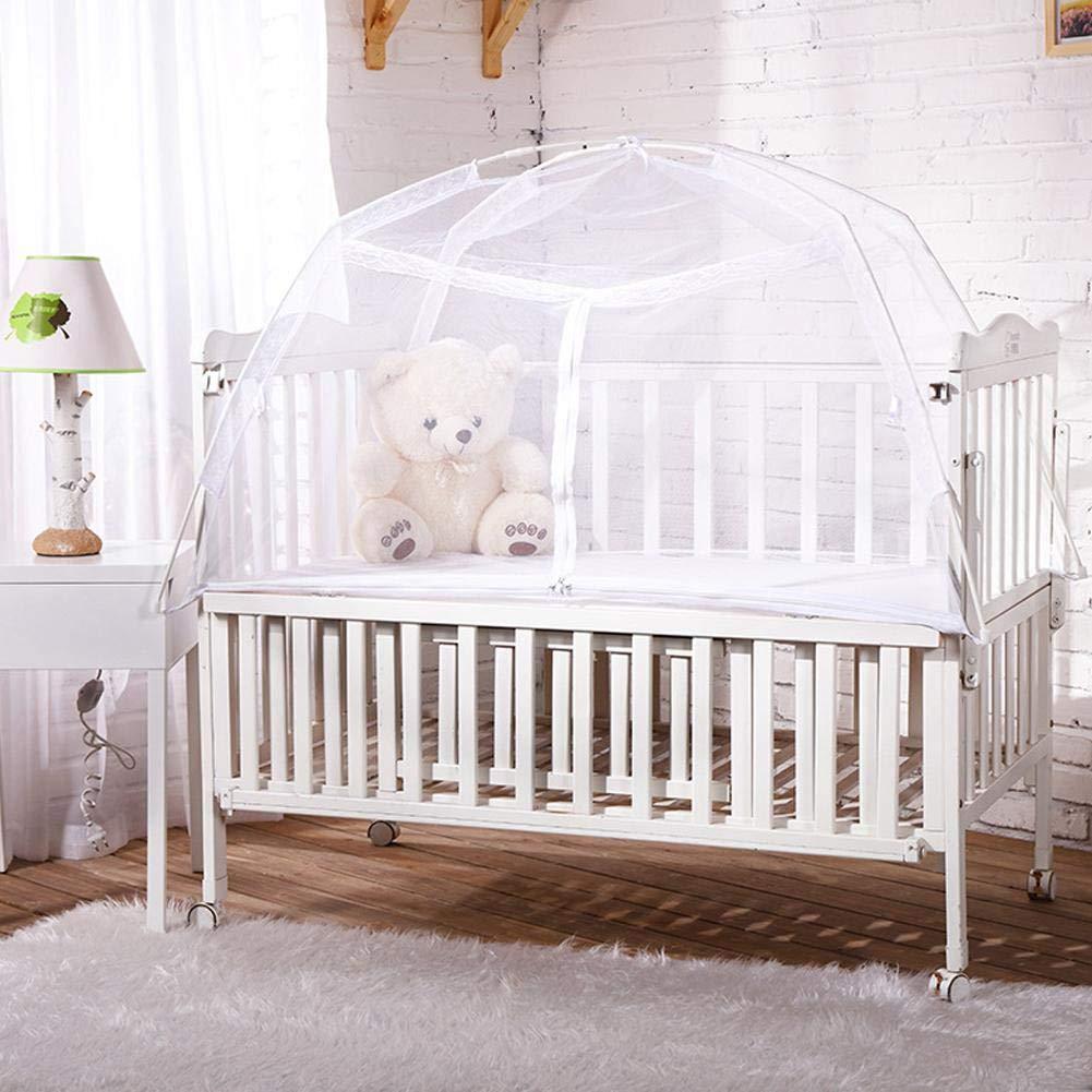 sch/ützt Ihr Baby vor Bissen Moskitonetz Betthimmel Ecisi Pop-up-Zelt f/ür die Sicherheit von Babybetten Premium-Betthimmel stilvolles und Robustes Unisex-Kinderbett-Zeltnetz