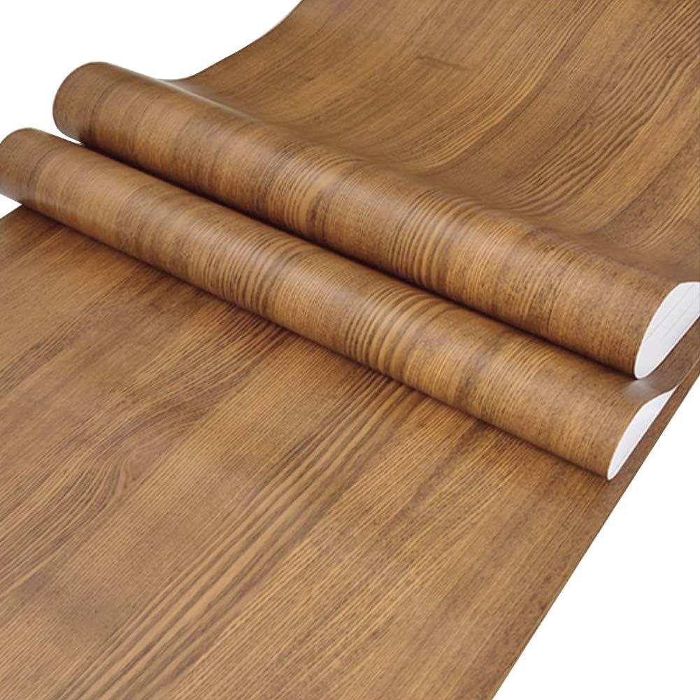 GOLDEN OAK LINER//CONTACT PAPER 24 FT Wood Grain