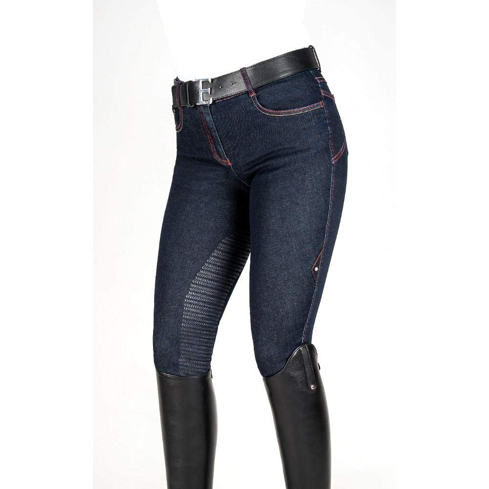 Equiline Heio Ladies Breeches Denim