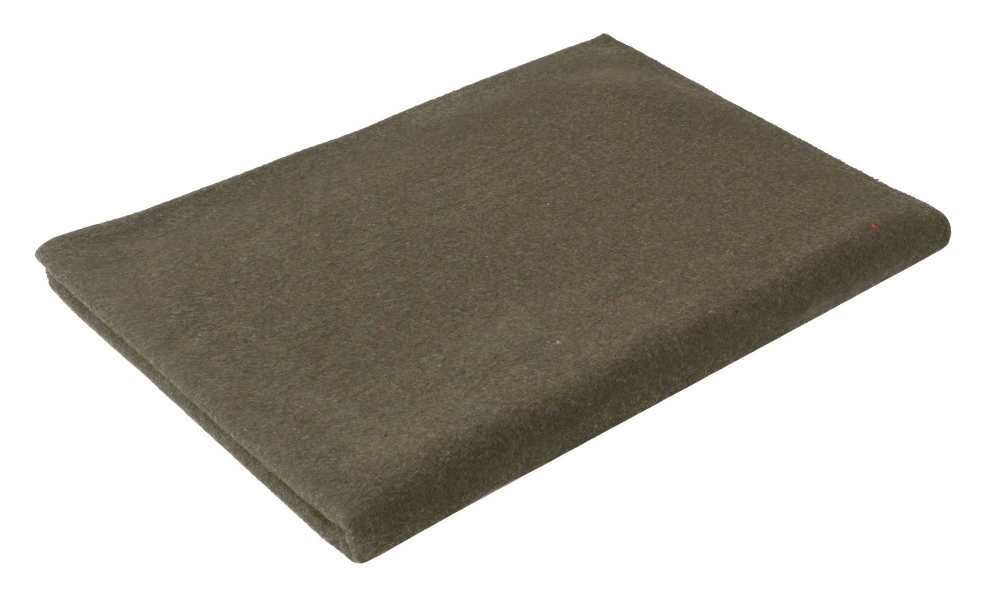 Olive Drab Warm Winter Blanket, 62'' x 80'' (70% Virgin Wool) by Rothco
