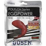 ゴーセン(GOSEN) EGGPOWER 17(1.22~1.24mm) 12.2m レッド TS101 レッド 122-124