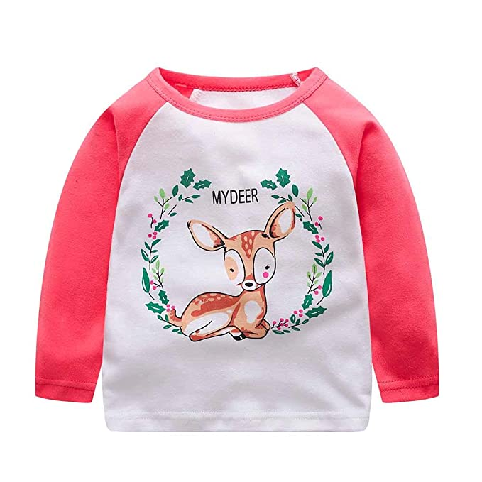 efb7e4aca2089 Black Friday Deals Boys clothes,Gifts for boys,Toddler Infant Kids Baby  Boys Girls Cartoon Letter Tops T-Shirt Outfits Clothes: Amazon.co.uk:  Clothing