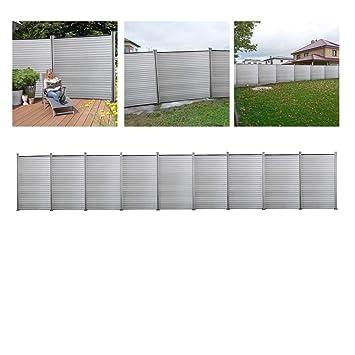 Gut gemocht Amazon.de: Hengda®WPC Sichtschutz Zaun Blickdicht Windschutz AG66