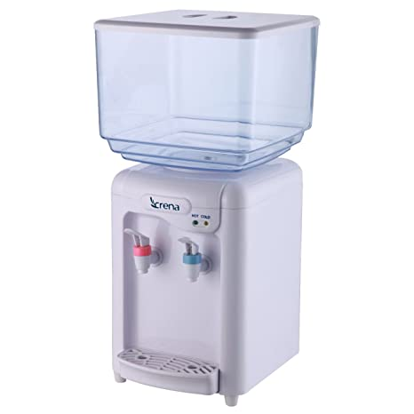 Crena 8081 Dispensador de Agua, 7 l, 7 Liters, Blanco