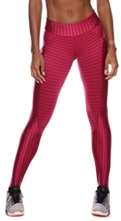 b39c61283397a Brazilian Workout Legging - Push Up Butt Lift Red at Amazon Women s ...
