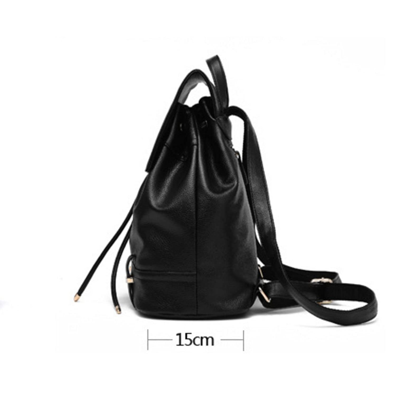 Women's Shoulder Bag Student Bag Fashion Backpack,Black-OneSize:  Amazon.co.uk: Clothing