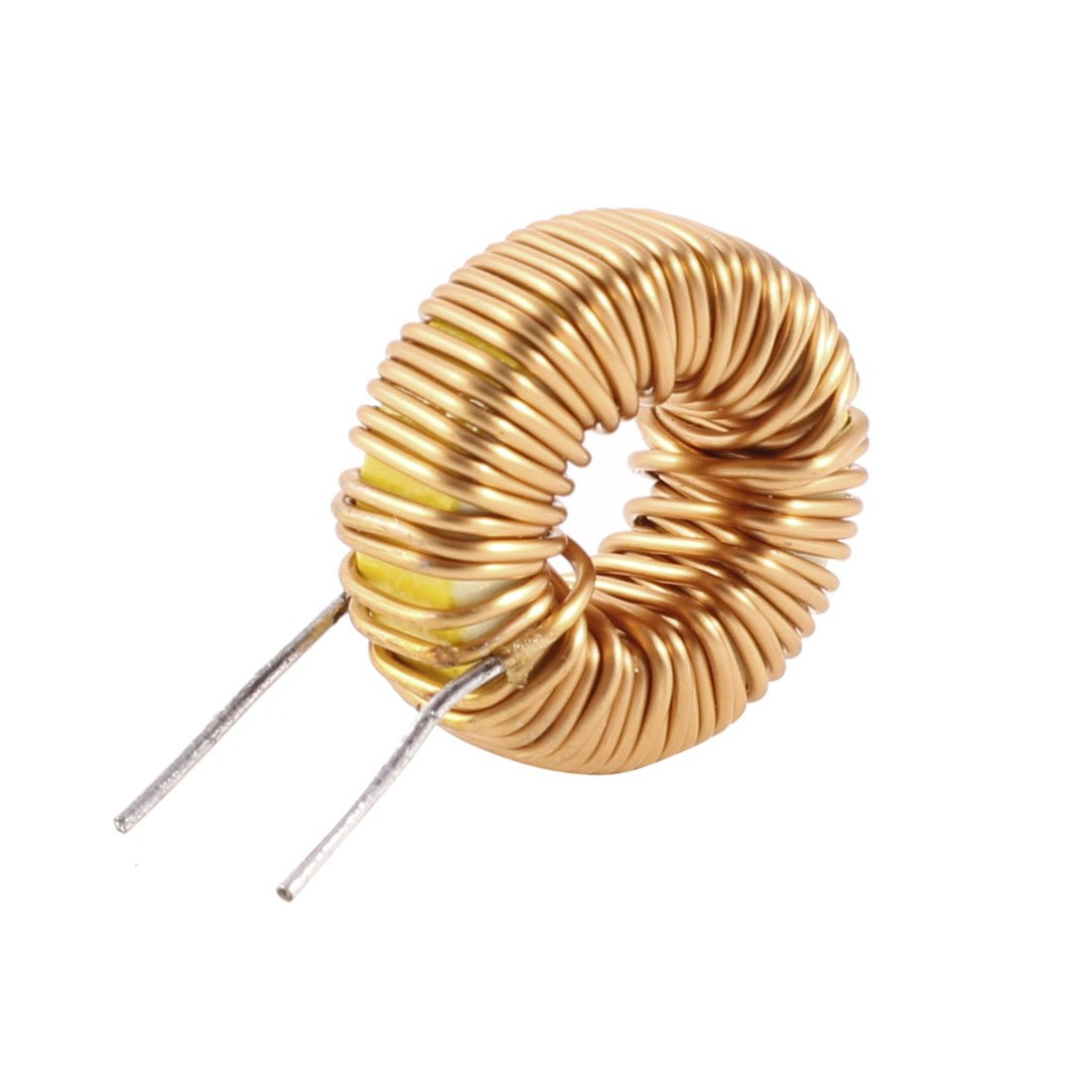 Uxcell a13071500ux0195 Toroid Core Inductor Wire Wind Wound 150uH 42mOhm 5 Amp, Coil