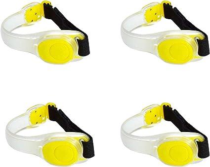 Bright Silicone Armband Strap LED Bike Bicycle Sports Flash Warning Safty Belt