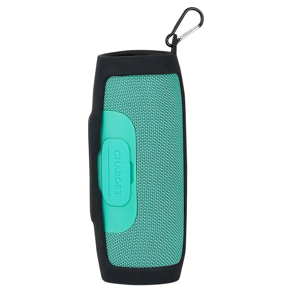 Jiayuane Funda protectora de silicona Protector antica/ídas Para JBL Charge 3 Altavoz Bluetooth