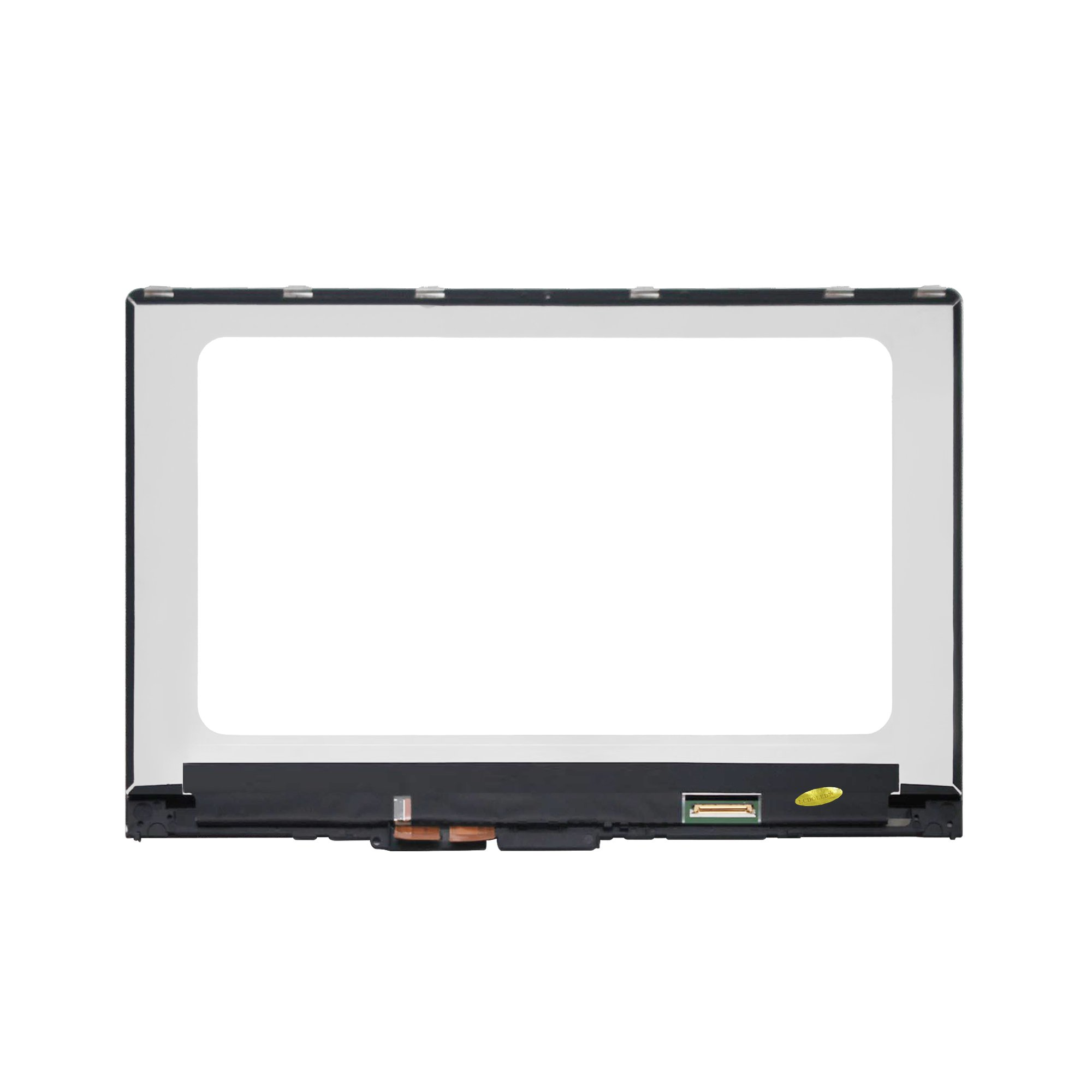 LCDOLED 15.6 inch FullHD 1080P N156HCA-EA1 IPS LCD Display Touch Screen Digitizer Assembly + Bezel for Lenovo Yoga 710 710-15ISK 710-15IKB 80U0 80V5 5TD50K85364 5D10K81093 (NOT for Screen LP156WFA) by LCDOLED (Image #2)