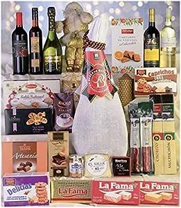 Cestas De Navidad y Regalos Caja de Navidad Lote - 21: Amazon.es: Salud y cuidado personal