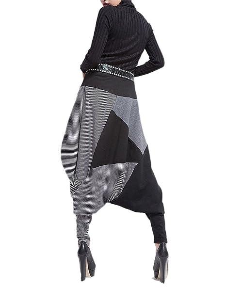 PIN Donna Casual Danza Jogging di Hip Hop Rigonfio Harem Tuta Pantaloni  sportivi halun-06  Amazon.it  Abbigliamento 0c1c57063cec