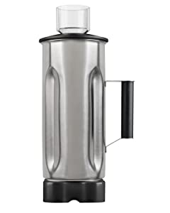 Hamilton Beach Commercial 6126-HBF600S 64 oz./1.8 L Container, Stainless Steel