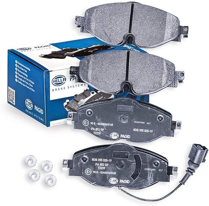Rear Axle or Front Axle HELLA PAGID 8AH 355 460-091 Brake Hose