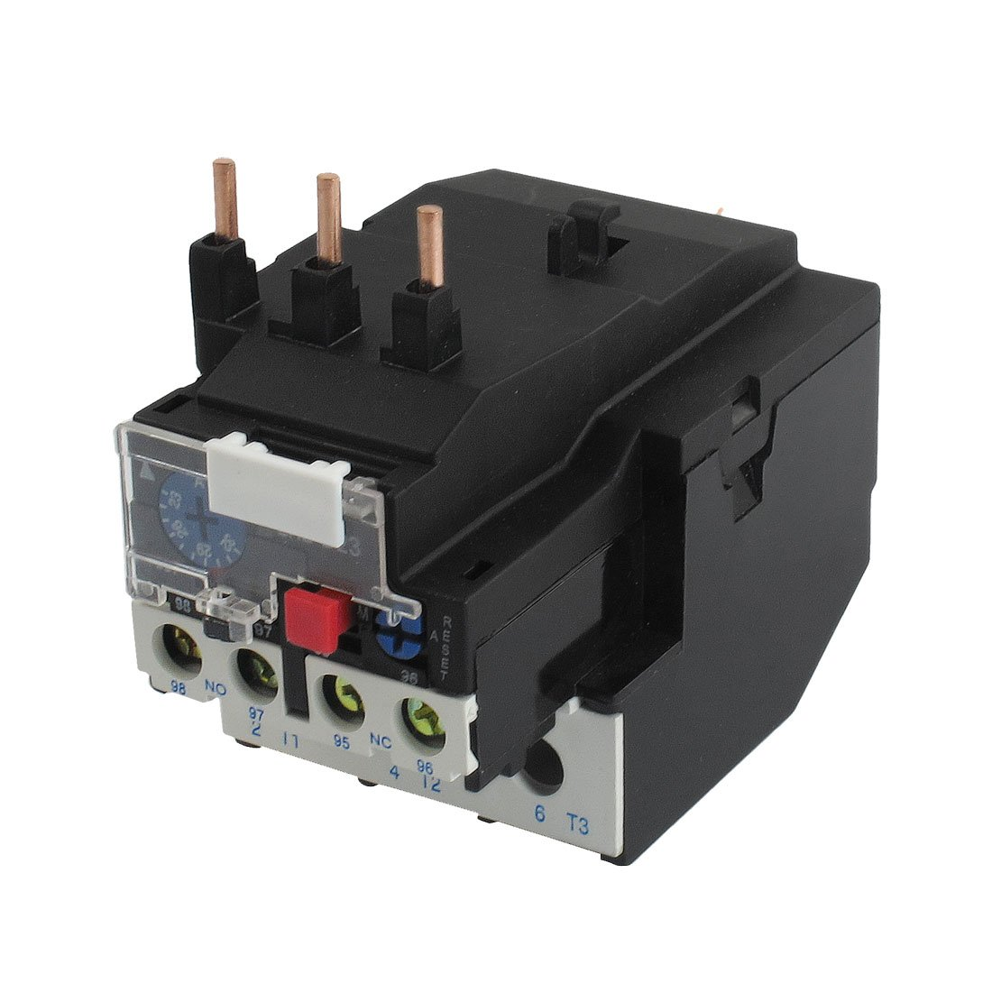 uxcell JR28-23 32A 3 Pole 23-32A Current Range 1NO 1NC Thermal Overload Relays