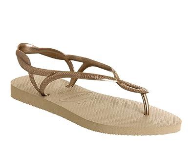 744d4794698 Havaianas Luna Gold - 2 3 UK  Amazon.co.uk  Shoes   Bags