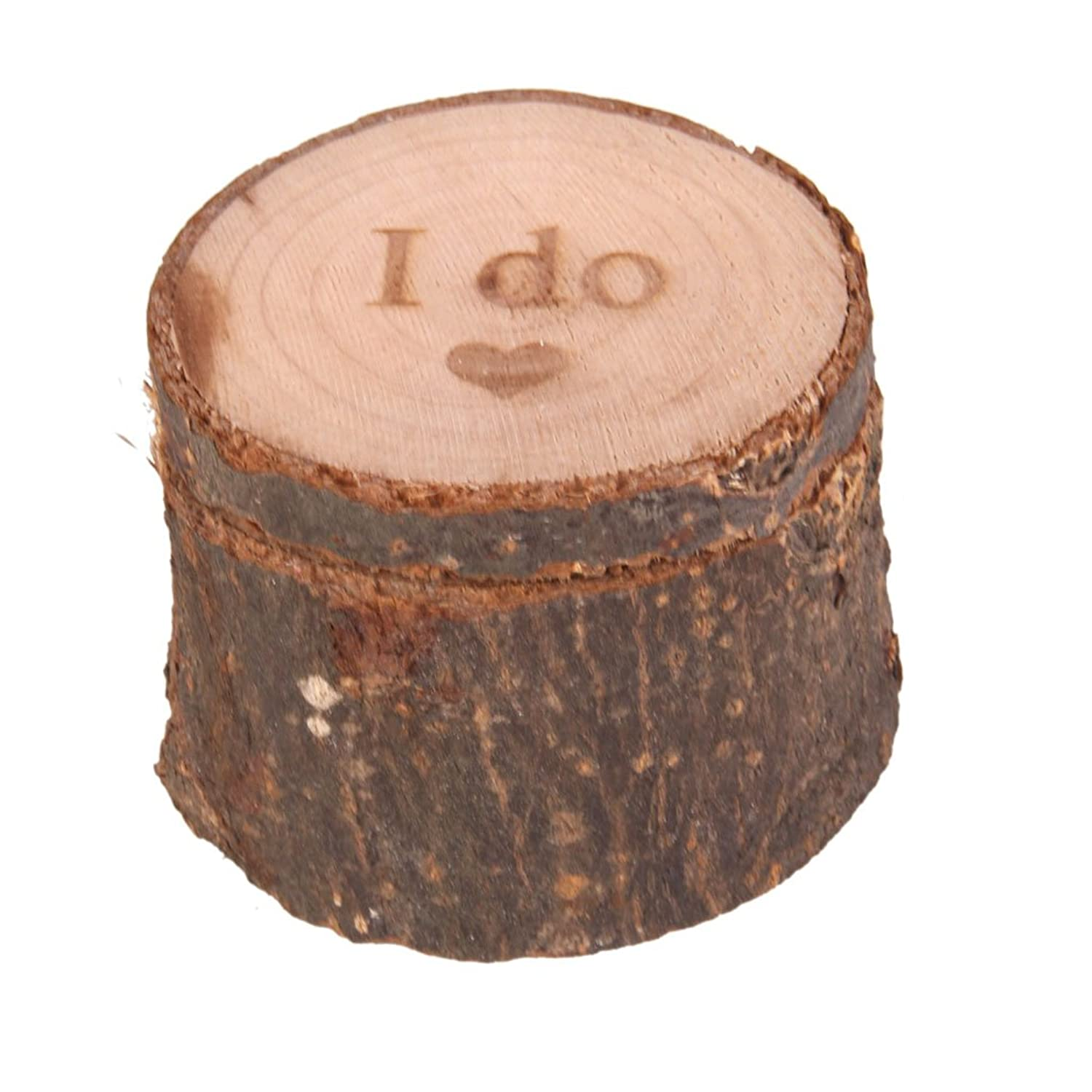 Buy Imported Personalised I Do Shabby Chic Rustic Wedding Ring