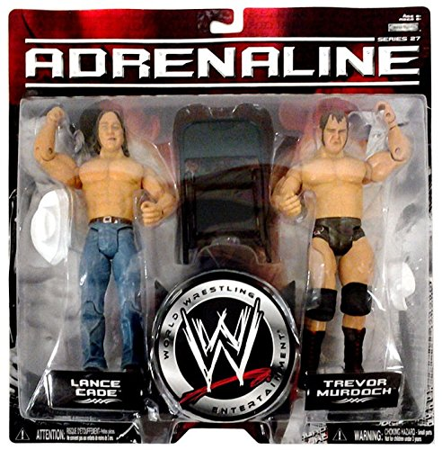 (WWE Wrestling Adrenaline Series 27 Action Figure 2-Pack Lance Cade & Trevor Murdoch)