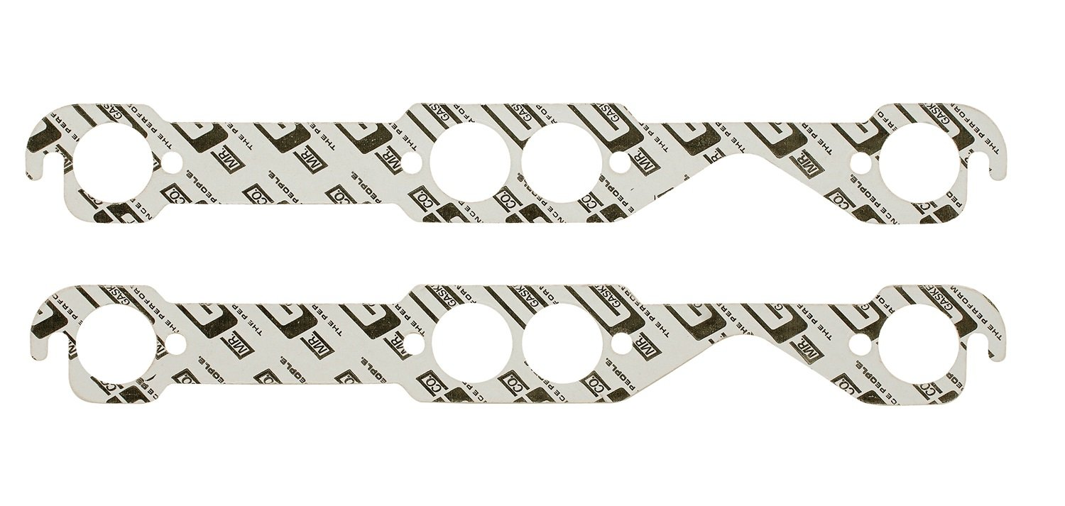 Mr. Gasket 150B High Performance Round Port Exhaust Gasket-Two Per Set by Mr. Gasket