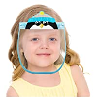 Kids Face Visor Shield, All-Round Protection Clear and Anti Fog Anti Spitting Lightweight Head-mounted Mas_k cover for…