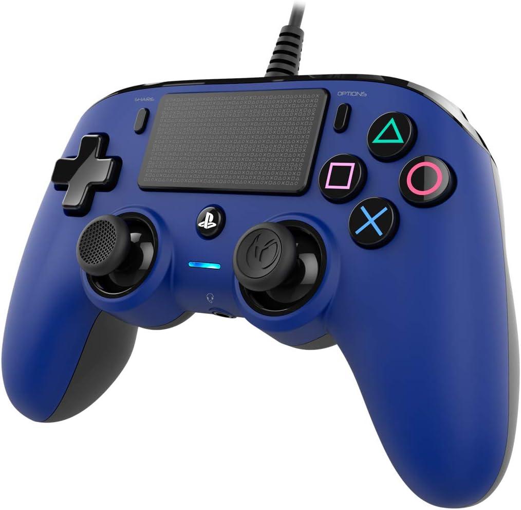 Nacon - Mando Compacto para PS4 PS4OFCPADBLUE