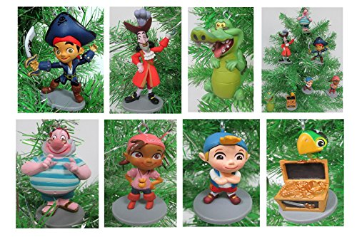 Jake and the Neverland Pirates Christmas Tree Ornament Set - 2