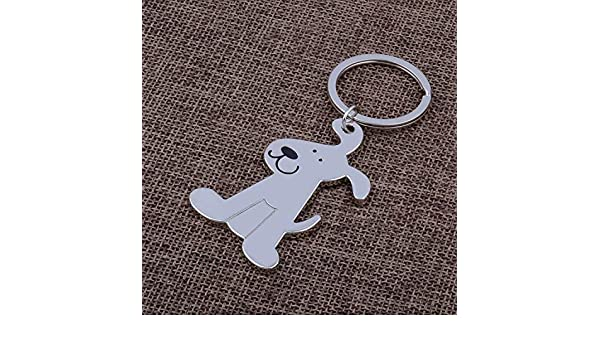 Amazon.com: Key Chains - Dog Keychain Cute Key Chain Ring ...