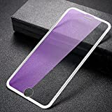 MOCOLO for iPhone 6 Plus/7 Plus/8 Plus Tempered Glass Screen Protector New Tech 3D Full Coverage 9H Black Print Front Protective Cover Film [Anti-Fingerprint] [High Definition][1 Pack](Transparency)