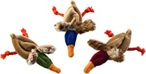 SPOT Ethical Products Skinneeez Duck Cat Toy, 3