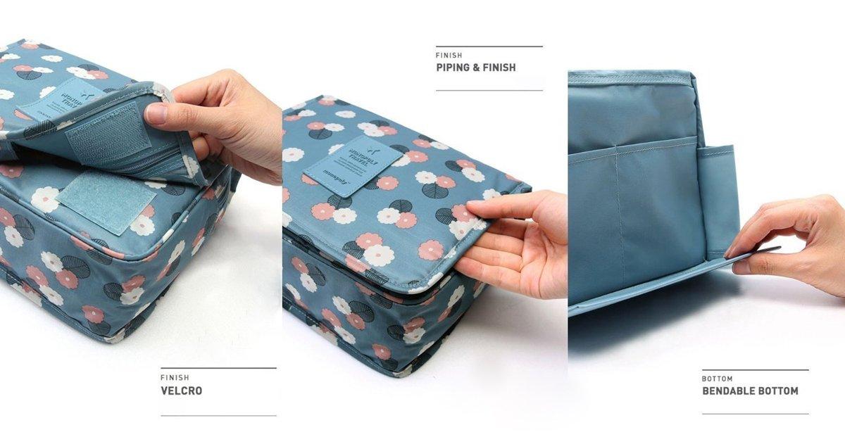Bolsa de aseo  Azul azul Webberstore