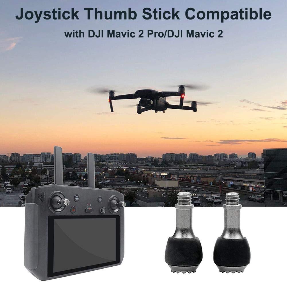 AIMERKUP Remote Control Thumb Lever Intelligent Controller Adjustable Telescopic Rod Aluminum Lever Joystick Thumb Rocker Compatible with DJI Mavic 2 top Sale