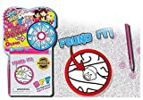Squiggle Spin & Seek Hidden Pictures Travel Game with Highlighter BFF- Wholesale Bulk Set of 24 Pcs