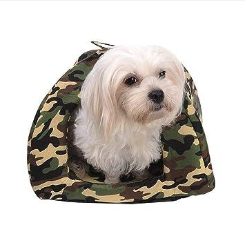 Wuwenw Camuflaje Camas para Perros Perros Pequeños Productos De Nido para Gatos Cálidas Camas para La