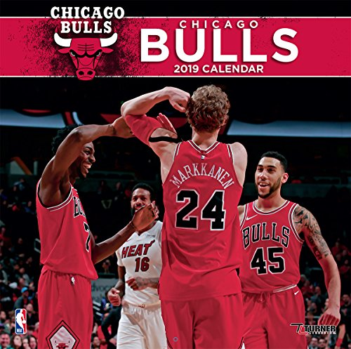 Poster Team Chicago Bulls - Turner Sport Chicago Bulls 2019 12X12 Team Wall Calendar (19998011873)