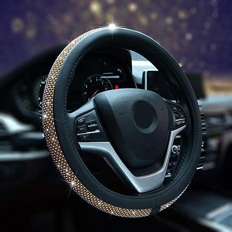 Amazon.com: Alusbell - Funda para volante de coche con ...