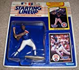 : 1989 - Kenner - MLB - Starting Lineup - Jerome Walton - Chicago Cubs - Vintage Action Figure - Rookie Card & Collector Card - Rare - Collectible