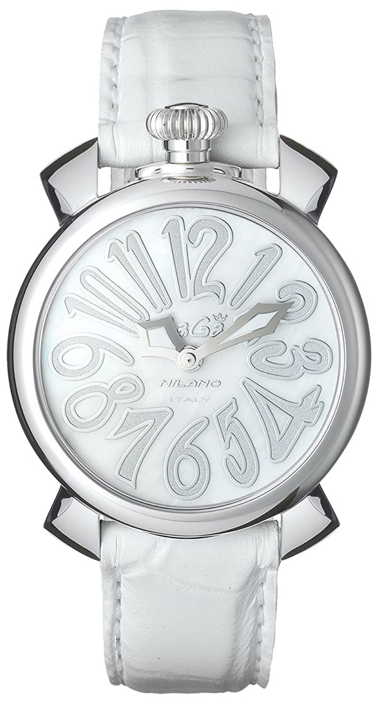 GAGA MILANO 5020.8 MANUALE 40MM ガガミラノ 腕時計 レザーベルト [並行輸入品] B01JRJ7SF4
