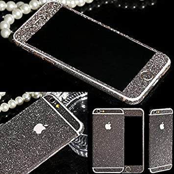 New energy bling glitter full body vinyl decal wrap sticker skin for iphone 6