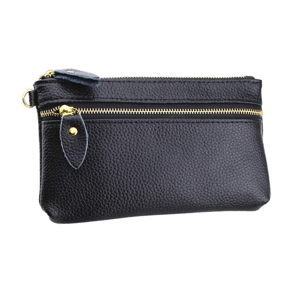 Women Wallets Leather Female Wallet Purses Soft Zipper Money Phone Bags Coin Purse