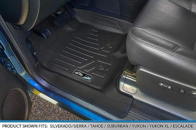 Lund 729602 Cargo-Logic Floor Mat 07-10 Chevy Suburban GMC Yukon XL Light Grey