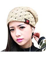 niceEshop(TM) Unisex Mens/Womens Fashionable Knit Winter/AutumnThermal Hat - Thermal Warm Hat