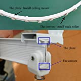 Aimyoo 3 Meters / 9.8 Feet Curved Curtain Track