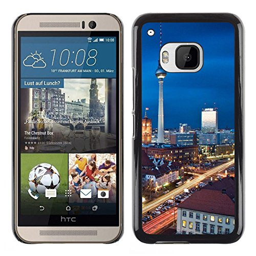 Amazon.com: FJCases Berlin Germany Postcard View Slim U0026 Thin Hard Case  Cover For HTC One (M9): Cell Phones U0026 Accessories