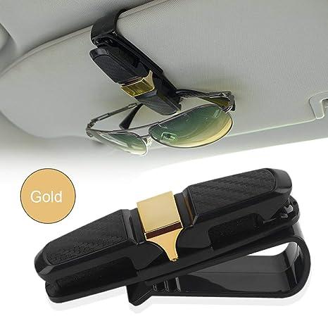 Vehículos ABS Auto del Coche Sujetador Cip Gafas de Sol de entradas Tarjeta de Recibo de