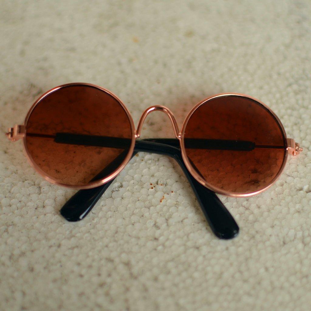 Gjyia Gafas de Sol para muñeca Cool Doll Glasses para BJD ...