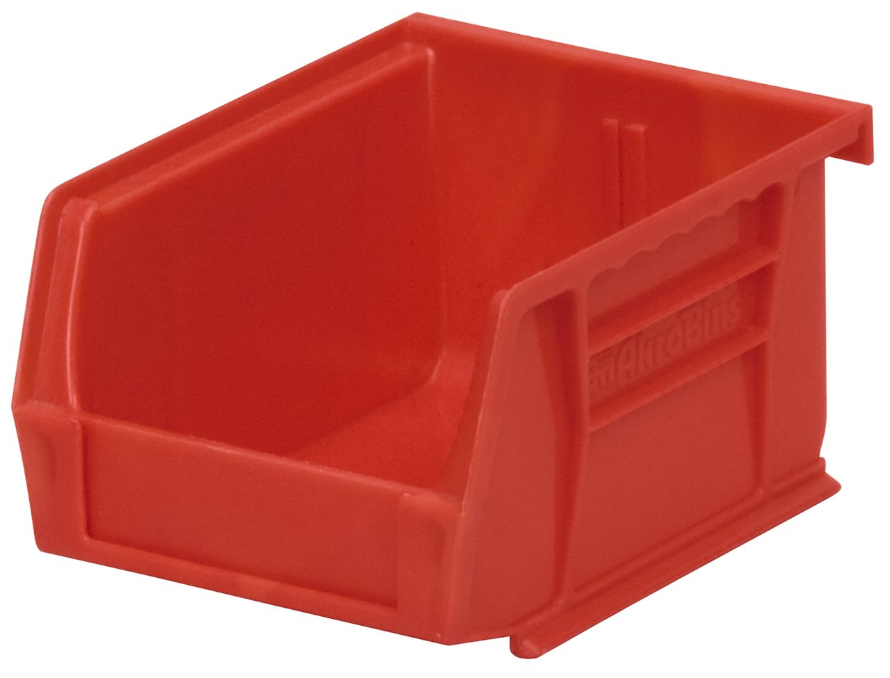 Akro-Mils 30210 Plastic Storage Stacking Hanging Akro Bin, 5-Inch by 4-Inch by 3-Inch, Red, Case of 24